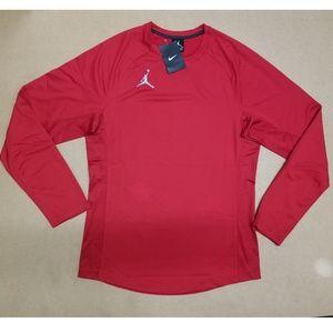 Nike Air Jordan Red Basketball T-Shirt Men's Sz S